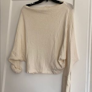 Free People thermal long sleeve top